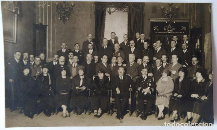 CARTAGENA 1928 FOTOGRAFO SAEZ MIEMBROS DE LA CRUZ ROJA (Postales - España - Murcia Antigua (hasta 1.939))