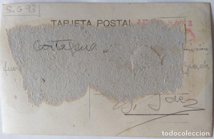 Postales: CARTAGENA 1928 FOTOGRAFO SAEZ - Foto 2 - 165856262