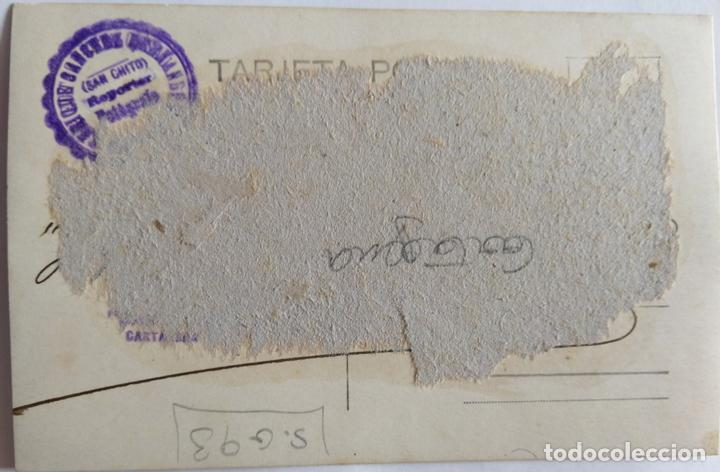 Postales: CARTAGENA 1928 FOTOGRAFO SAN CHITO - Foto 2 - 165856410
