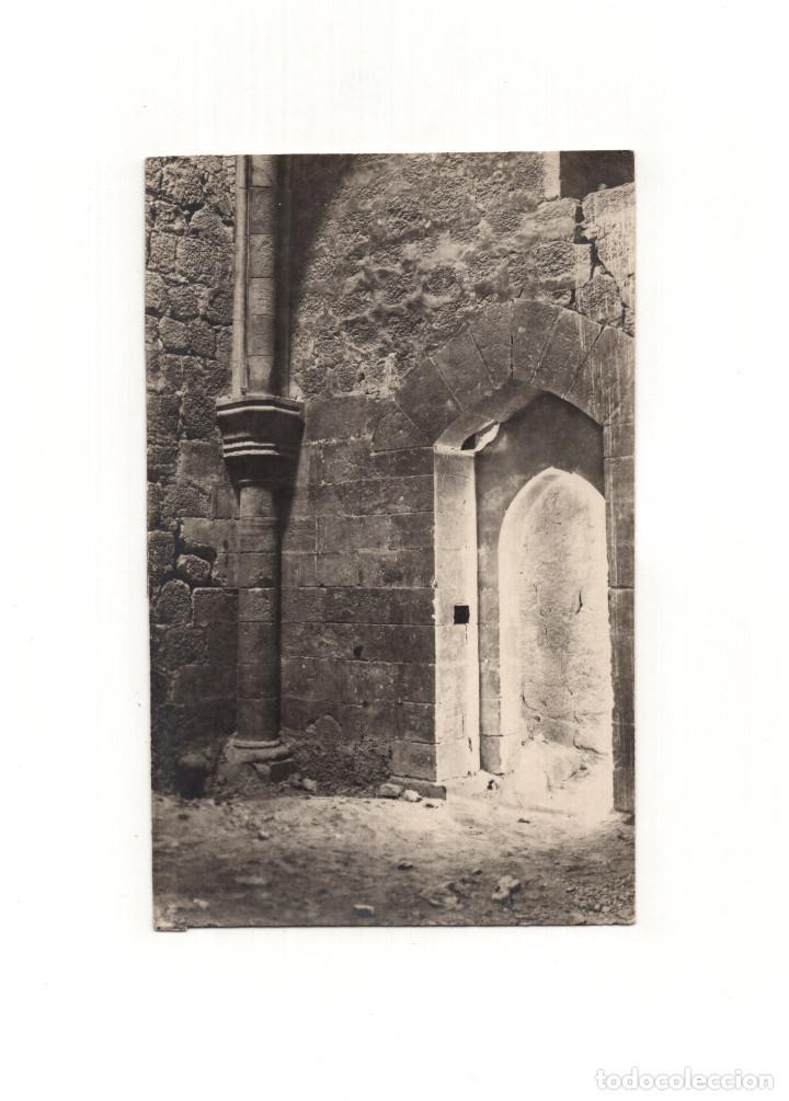 LORCA.(MURCIA).- INTERIOR TORRE DEL ESPOLÓN. POSTAL FOTOGRÁFICA. FOTO MENCHÓN. (Postales - España - Murcia Antigua (hasta 1.939))
