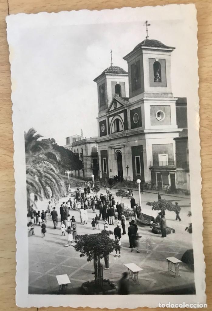 AGUILAS POSTAL FOTOGRAFICA MURCIA IGLESIA PARROQUIAL DE SAN JOSE ED AZNAR SIN C BUEN ESTADO (Postales - España - Murcia Antigua (hasta 1.939))