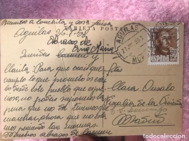 Postales: AGUILAS MURCIA postal PLAYA DE PONIENTE Y PESCADERIA, FOTO AZNAR. - Foto 5 - 166275270