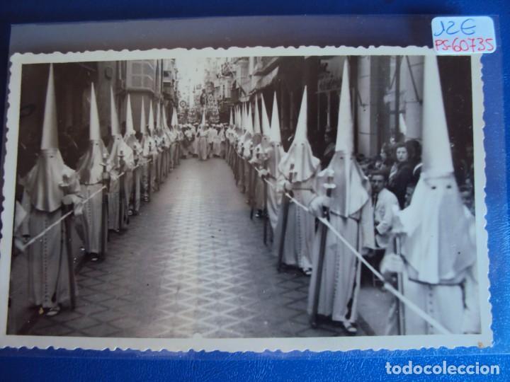 (PS-60735)POSTAL FOTOGRAFICA DE CARTAGENA-SEMANA SANTA 1942 (Postales - España - Murcia Moderna (desde 1.940))