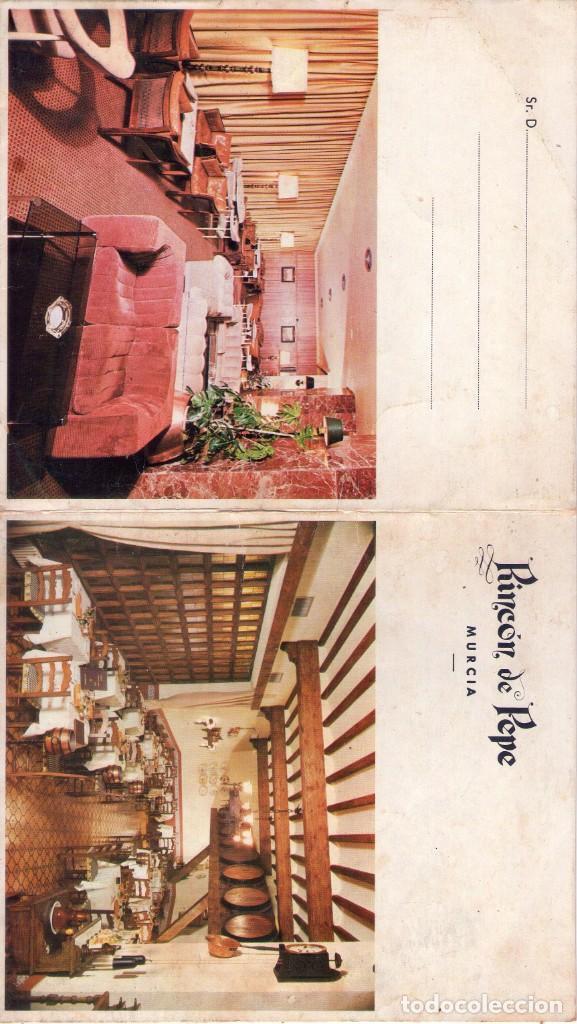 POSTAL DE RINCON DE PEPE, MURCIA (Postales - España - Murcia Antigua (hasta 1.939))