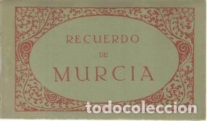 RECUERDO DE MURCIA. 10 TARJETAS POSTALES (Postales - España - Murcia Antigua (hasta 1.939))