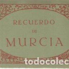 Postales: RECUERDO DE MURCIA. 10 TARJETAS POSTALES. Lote 168892090