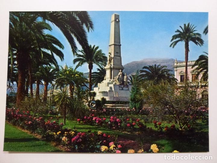 POSTAL. 49. CARTAGENA. MONUMENTO A LOS HÉROES DE CAVITE. ED. ARRIBAS. NO ESCRITA. (Postales - España - Murcia Moderna (desde 1.940))