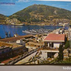 Postales: POSTAL CARTAGENA - VISTA PARCIAL PUERTO -CIRCULADA. Lote 170105108