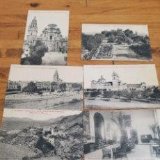 Postales: 12 POSTALES DE MURCIA ANTIGUAS EDICIÓN ESPECIAL PARA LOS GRANDES HOTELES PATRÓN Y UNIVERSAL. Lote 170232152