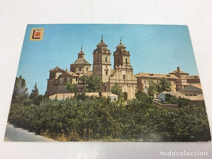 POSTAL DE MONASTERIO DE SAN GERONIMO (MURCIA) - CURSADA 1974 (Postales - España - Murcia Moderna (desde 1.940))