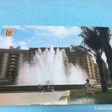 Postales: POSTAL DE PLAZA GENERALISIMO FRANCO (MURCIA) - CURSADA 1972. Lote 170421600