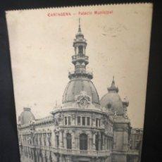Postales: TARJETA POSTAL CARTAGENA 1912 ORIGINAL DE LA ÉPOCA. Lote 171169913