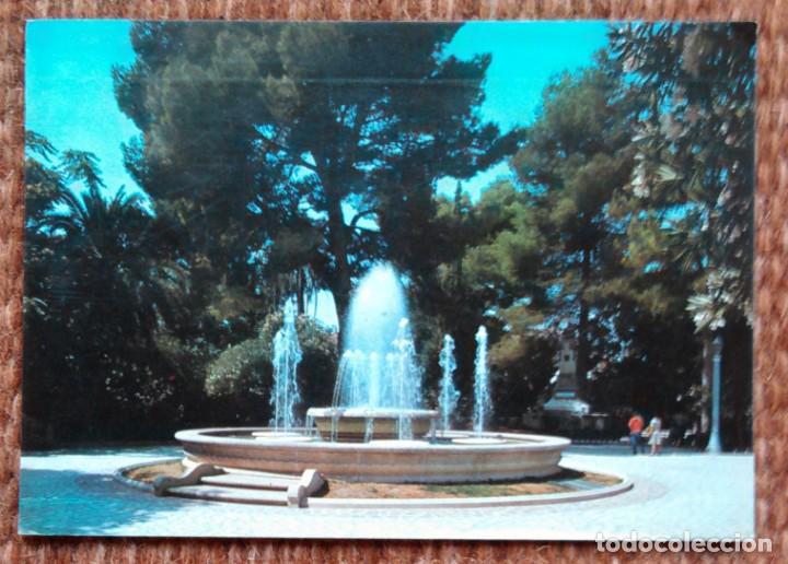 JUMILLA - MURCIA - PARQUE MUNICIPAL (Postales - España - Murcia Moderna (desde 1.940))