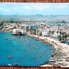 Postales: AGUILAS - MURCIA - PLAYA DE PONIENTE. Lote 171403268