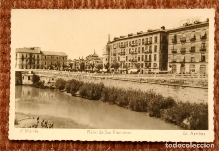 MURCIA - PLANO DE SAN FRANCISCO - EDICIONES ARRIBAS (Postales - España - Murcia Moderna (desde 1.940))