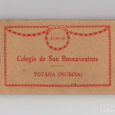 Postales: TOTANA.(MURCIA).-COLEGIO SAN BUENAVENTURA. BLOCK ENTERO 20 POSTALES. THOMAS.. Lote 171432195
