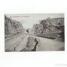 Postales: CARTAGENA.(MURCIA).- CALLE DE GISBERT. POSTAL FOTOGRÁFICA. A. FABERT. . Lote 171772220