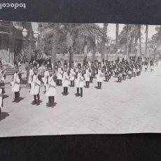 Postales: CARTAGENA MURCIA SEMANA SANTA 1945 GRANADEROS DE LOS MARRAJOS POSTAL FOTOGRAFICA CASAU. Lote 171773255