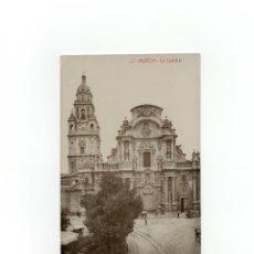 Postales: MURCIA.- LA CATEDRAL. POSTAL FOTOGRÁFICA. . Lote 171820010