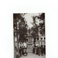 Postales: MURCIA.- MONUMENTO A GARCÍA MUÑOZ . POSTAL FOTOGRÁFICA. A. FABERT.. Lote 171823550