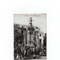 Postales: MURCIA.- MONUMENTO Á SALCILLO . POSTAL FOTOGRÁFICA. A. FABERT.. Lote 171823818