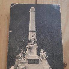 Postales: ANTIGUA POSTAL MONUMENTO HEROES CUBA Y CAVITE CARTAGENA MURCIA. Lote 172086113