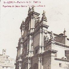 Postales: POSTAL FOTOGRAFICA LORCA FACHADA DE SAN PATRICIO . Lote 172561557