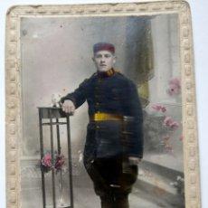 Postales: CARTAGENA MILITAR COLOREADA FOTOGRAFO RICARDO HERNANDEZ. Lote 172668990
