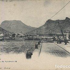 Postales: X121974 MURCIA CARTAGENA MUELLE ALFONSO XII PRECURSOR ANTES DE 1904 HAUSER Y MENET. Lote 173139287