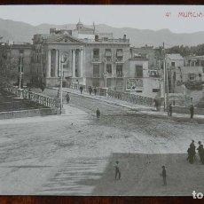 Postales: FOTO POSTAL DE MURCIA, PUENTE VIEJO, N. 41, ED. ANDRES FABERT, NO CIRCULADA.. Lote 173385853
