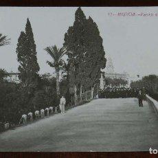 Postales: FOTO POSTAL DE MURCIA, N. 17, PASEO DEL MALECON, ED. FABERT, NO CIRCULADA.. Lote 173386037