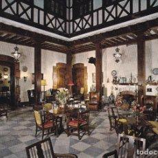 Postales: MURCIA HOTEL REINA VICTORIA PATIO ED. SUBIRATS Nº 85 AÑO 1964. Lote 205580027
