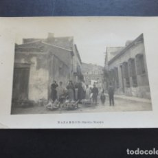 Postales: MAZARRON MURCIA BARRIO NUEVO POSTAL FOTOGRAFICA HACIA 1915. Lote 174928338