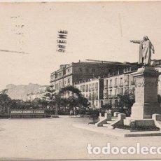 Postales: CARTAGENA (MURCIA) - MONUMENTO A COLON Y MURALLA DEL MAR. Lote 175162130