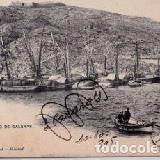 Postales: CARTAGENA (MURCIA) - CASTILLO DE GALERAS. Lote 175162132