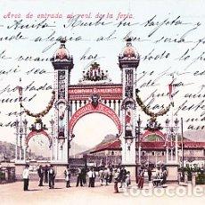 Postales: CARTAGENA (MURCIA) - AREA DE ENTRADA AL REAL DE LA FERIA. Lote 175162154