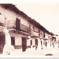 Postales: RIAZA (SEGOVIA) - CALLE DE CERVANTES. Lote 175228679