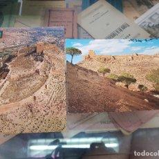 Postales: POSTALES CASTILLO DE LORCA MURCIA. Lote 175243498
