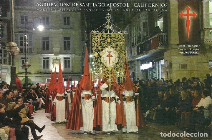 Postales: 4 Tarjetas postales impresas tambien por el reverso de los Californios de Cartagena - Foto 3 - 175742340