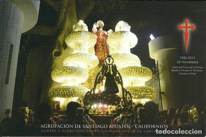 Postales: 4 Tarjetas postales impresas tambien por el reverso de los Californios de Cartagena - Foto 4 - 175742340