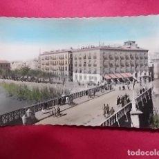 Postales: TARJETA POSTAL. MURCIA. PUENTE VIEJO. AL FONDO Y HOTEL VICTORIA. GARRABELLA. Lote 175919333