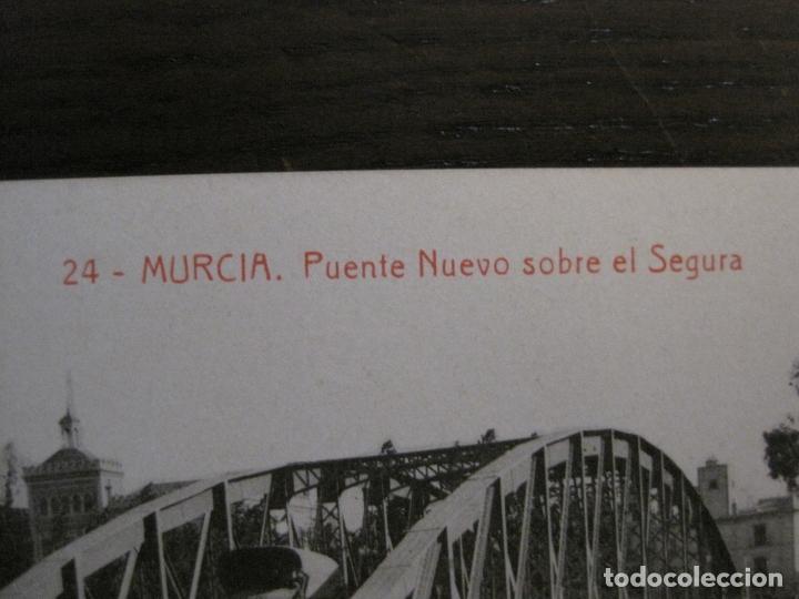 Postales: MURCIA-PUENTE NUEVO SOBRE EL SEGURA-24-THOMAS-POSTAL ANTIGUA-VER FOTOS-(62.099) - Foto 2 - 176015208