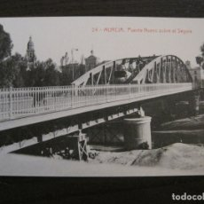 Postales: MURCIA-PUENTE NUEVO SOBRE EL SEGURA-24-THOMAS-POSTAL ANTIGUA-VER FOTOS-(62.099). Lote 176015208
