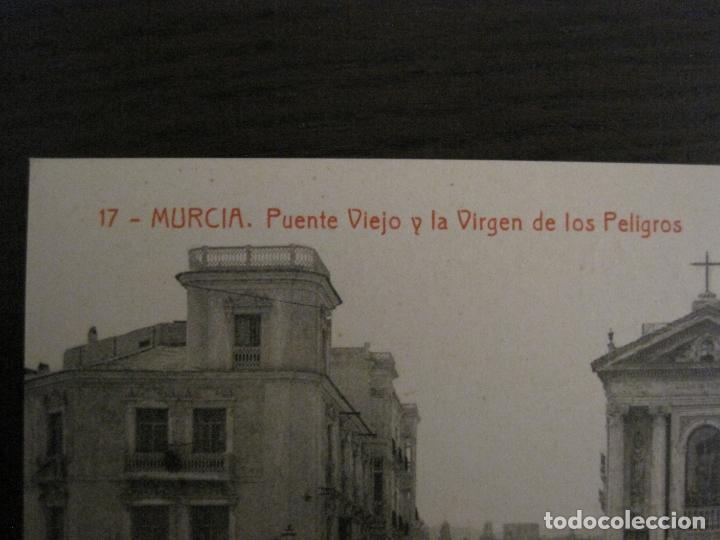 Postales: MURCIA-PUENTE VIEJO Y LA VIRGEN DE LOS PELIGROS-17-THOMAS-POSTAL ANTIGUA-VER FOTOS-(62.106) - Foto 2 - 176015815