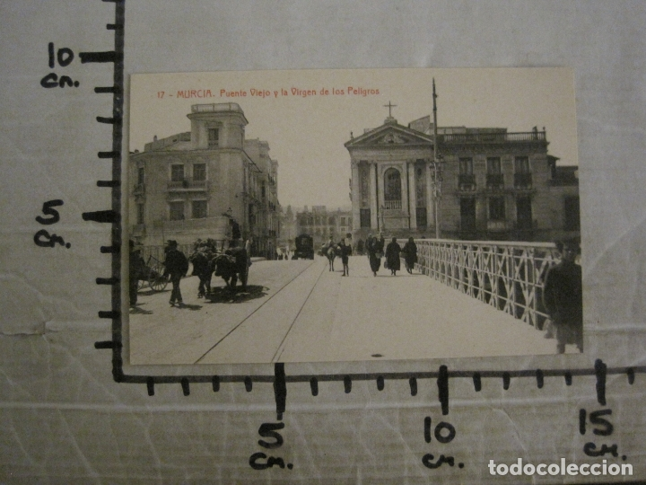 Postales: MURCIA-PUENTE VIEJO Y LA VIRGEN DE LOS PELIGROS-17-THOMAS-POSTAL ANTIGUA-VER FOTOS-(62.106) - Foto 4 - 176015815