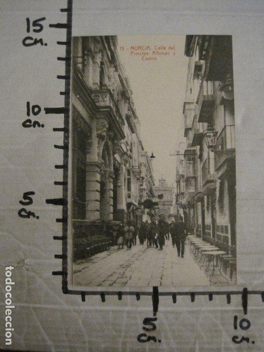 Postales: MURCIA-CALLE DEL PRINCIPE, ALFONSO Y CASINO-13-THOMAS-POSTAL ANTIGUA-VER FOTOS-(62.110) - Foto 4 - 176016247
