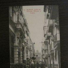 Postales: MURCIA-CALLE DEL PRINCIPE, ALFONSO Y CASINO-13-THOMAS-POSTAL ANTIGUA-VER FOTOS-(62.110). Lote 176016247