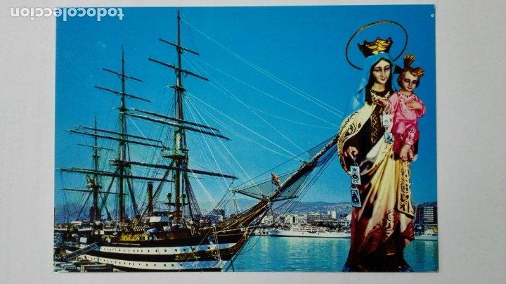 POSTAL VIRGEN DEL CARMEN - PATRONA DE LA MARINA (Postales - España - Murcia Moderna (desde 1.940))