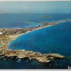 Cartes Postales: POSTAL LA MANGA DEL MAR MENOR, NUEVO PUERTO CABO DE PALOS Y LA MANGA. Lote 176267668