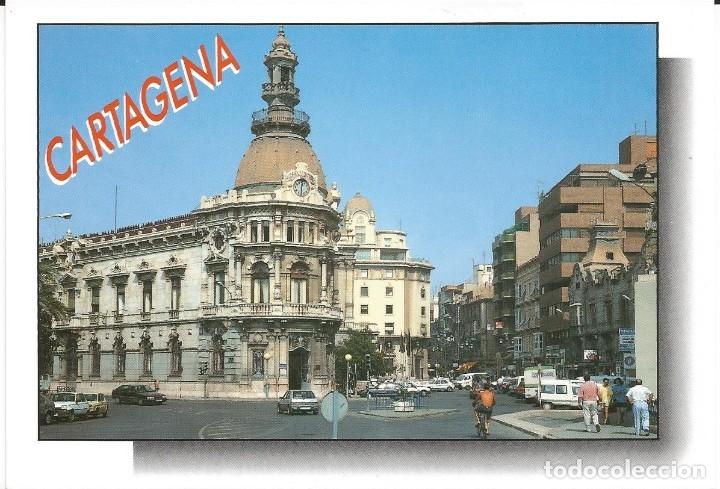 [POSTAL] AYUNTAMIENTO. CARTAGENA (MURCIA) (SIN CIRCULAR) (Postales - España - Murcia Moderna (desde 1.940))